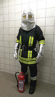 Schutzanzug Hitzeschutz leicht 1