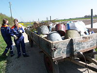 JF Sozial Müllsammlung