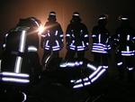Feuerwehr Siebnach Nachtübung Traunried