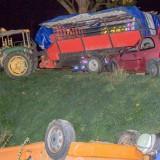 Nachtübung Verkehrsunfall