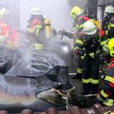 Garagenbrand in Siebnach