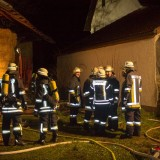 Brand in landwirtschaftlichem Anwesen